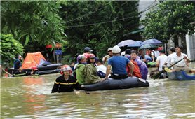 Hà Giang: Phố núi cũng ngập lụt
