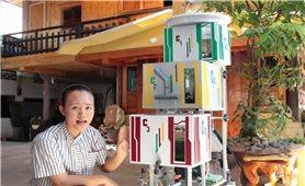 Máy lọc nước của nữ sinh Nguyễn Chí Phương Thanh