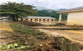 Nghệ An: Lũ quét ở Tương Dương gây nhiều thiệt hại về tài sản