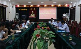 Ủy ban Dân tộc: Lễ Công bố Quyết định về công tác cán bộ
