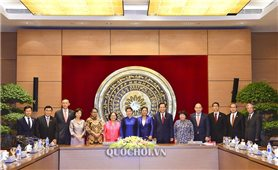 Chủ tịch Quốc hội tiếp các Trưởng đoàn tham dự Hội nghị AMMW 3