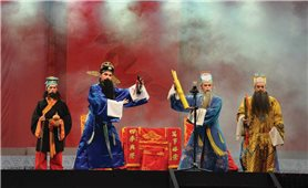 Nghệ thuật hát Tiều của người Hoa ở Chợ Lớn