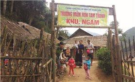 Sắp xếp các điểm trường lẻ ở Quan Sơn (Thanh Hóa): Hướng đến mục tiêu nâng cao chất lượng giáo dục