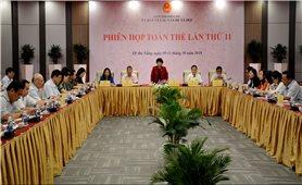 Ủy ban Về các vấn đề xã hội họp phiên toàn thể lần thứ 11