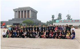 166 học sinh, sinh viên DTTS xuất sắc, tiêu biểu báo công dâng Bác