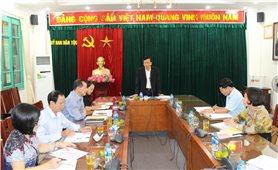 Họp Hội đồng thẩm định Chương trình bồi dưỡng kiến thức dân tộc