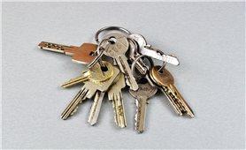 Không nên cho mượn chùm chìa khóa một cách tùy tiện
