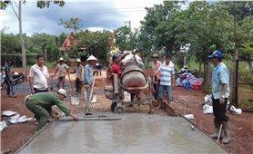 Thực hiện Chương trình 135 ở Bình Phước: Phát triển sản xuất cải thiện đời sống dân sinh