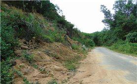 Bình Định: Chủ động phòng ngừa nguy cơ sạt lở đất, đá ở miền núi