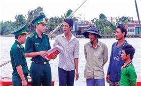 """Tây Nam bộ: Tuyên truyền pháp luật để ngư dân """"vươn ra biển, làm giàu từ biển"""""""