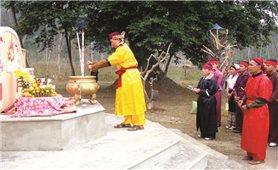 Lễ cúng Cắm phà của người Thái xã Châu Tiến