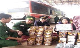 """Vùng biên Việt-Lào: Cuộc chiến chống pháo lậu đang """"nóng"""" dần"""