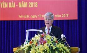 Bộ trưởng, Chủ nhiệm Uỷ ban Dân tộc Đỗ Văn Chiến dự Hội nghị tuyên dương người có uy tín tỉnh Yên Bái