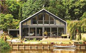 Những mô hình làm nhà nổi chống ngập lụt