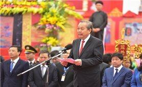 Phó Thủ tướng Trương Hòa Bình thực hiện nghi lễ cày tịch điền tại tỉnh Hà Nam