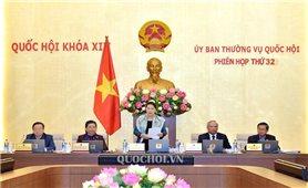 Chủ tịch Quốc hội Nguyễn Thị Kim Ngân khai mạc Phiên họp thứ 32 của Ủy ban Thường vụ Quốc hội