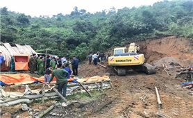 Nghệ An: Sập hầm mỏ thiếc 3 người tử vong