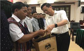 Ủy ban Dân tộc: Gặp mặt Đoàn đại biểu Người có uy tín trong đồng bào DTTS tỉnh Quảng Nam