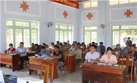 Ban Dân tộc tỉnh Kon Tum: Hội nghị nâng cao năng lực thực hiện mô hình giảm thiểu tảo hôn và hôn nhân cận huyết thống trong vùng đồng bào DTTS.