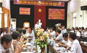 Đoàn công tác của Ủy ban Dân tộc làm việc tại Phú Yên