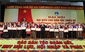 Nhiều địa phương tổ chức thành công Đại hội Đại biểu các DTTS cấp tỉnh lần thứ III