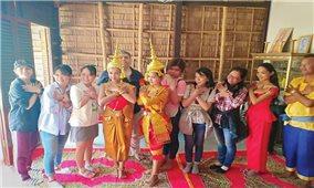 Làng Văn hóa du lịch Trà Vinh: Bảo tồn văn hóa gắn với khởi nghiệp vùng đồng bào dân tộc