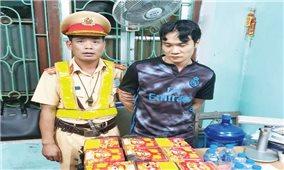 Bắc Giang: Bắt đối tượng vận chuyển pháo