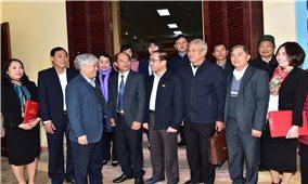 Bộ trưởng, Chủ nhiệm Ủy ban Dân tộc Đỗ Văn Chiến tiếp xúc cử tri huyện Sơn Dương, tỉnh Tuyên Quang
