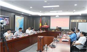 Đảng ủy cơ quan Ủy ban Dân tộc: Tổ chức Hội nghị Ban Chấp hành Đảng bộ lần thứ IV, nhiệm kỳ 2020-2025.