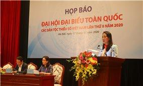 1.600 đại biểu tham dự Đại hội Đại biểu toàn quốc các Dân tộc thiểu số Việt Nam lần thứ II năm 2020