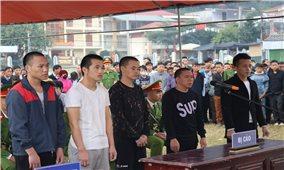 Hà Giang: Xét xử lưu động Sơ thẩm vụ án hình sự tổ chức cho người trốn đi nước ngoài