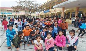 Hà Giang: Giữ ấm cho học sinh trong mùa đông