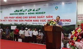 Diễn đàn khuyến nông để tiếp tục nâng cao giá trị cây sắn