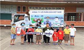 Quỹ Sữa Vươn cao Việt Nam: Hỗ trợ trẻ em khó khăn trong dịch Covd - 19