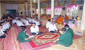Đón Tết cổ truyền của đồng bào Khmer: Đồng hành phòng, chống dịch Covid - 19