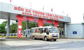 Lào Cai: Vận tải hành khách công cộng hoạt động trở lại