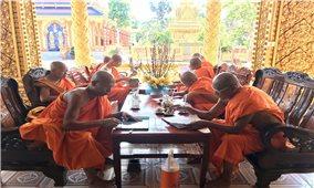Hội đoàn kết sư sãi yêu nước Kiên Giang hướng dẫn tổ chức Đại lễ Phật Đản 2020