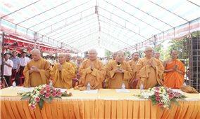 Cần Thơ: Khởi công xây dựng chánh điện Học viện Phật giáo Nam tông Khmer