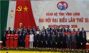 Bế mạc Đại hội Đại biểu Đảng bộ tỉnh Vĩnh Long khóa XI, nhiệm kỳ 2020 - 2025