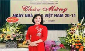 Bạn Nguyễn Thị Thu Hương đoạt giải Nhất tuần 16