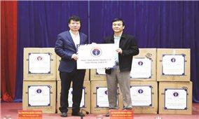 Bộ Y tế hỗ trợ 165.000 khẩu trang y tế cho 7 tỉnh biên giới
