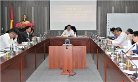 Đảng ủy Cơ quan Ủy ban Dân tộc: Góp ý dự thảo Báo cáo chính trị Đại hội Đại biểu Đảng bộ lần thứ VIII