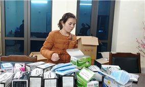 Lào Cai: Bắt giữ 2 vụ buôn lậu khẩu trang y tế
