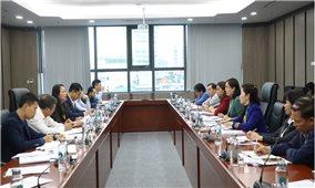 UBDT làm việc với Bộ VHTT&DL: Góp ý về Chương trình mục tiêu quốc gia giai đoạn 2021-2030
