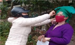 Vùng đồng bào DTTS và miền núi tuyên truyền phòng, chống dịch Covid-19 bằng tiếng dân tộc: Hiệu quả nhân đôi