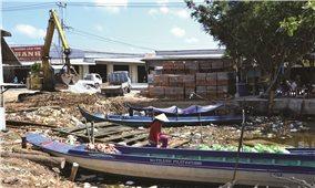 Kiên Giang: Ô nhiễm nặng tại các đập ngăn mặn