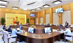 UBTV Quốc hội cho ý kiến về chương trình xây dựng luật, pháp lệnh