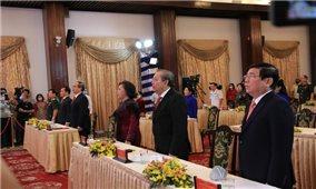 Chủ tịch Quốc Hội dự Lễ kỷ niệm 45 năm Giải phóng miền Nam thống nhất đất nước