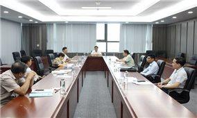 UBDT họp Hội đồng thẩm định Đề cương Dự án bảo vệ môi trường