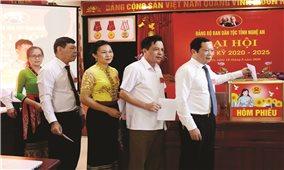 Đại hội Đảng bộ Ban Dân tộc tỉnh Nghệ An